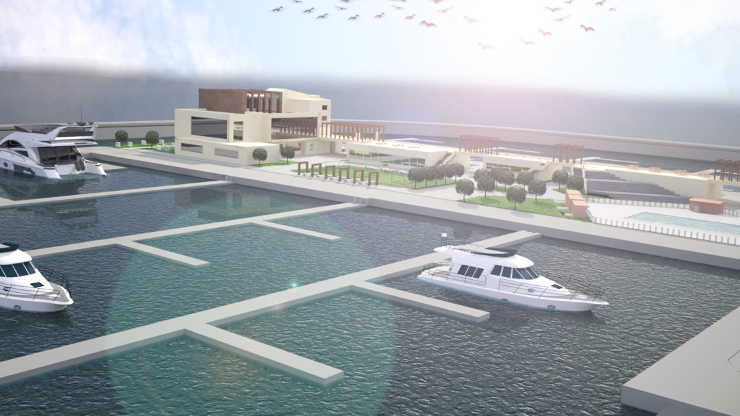 3D Visualization of the Aqua Marine Project