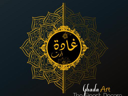 Corporate Identity Creation for Ghada Art