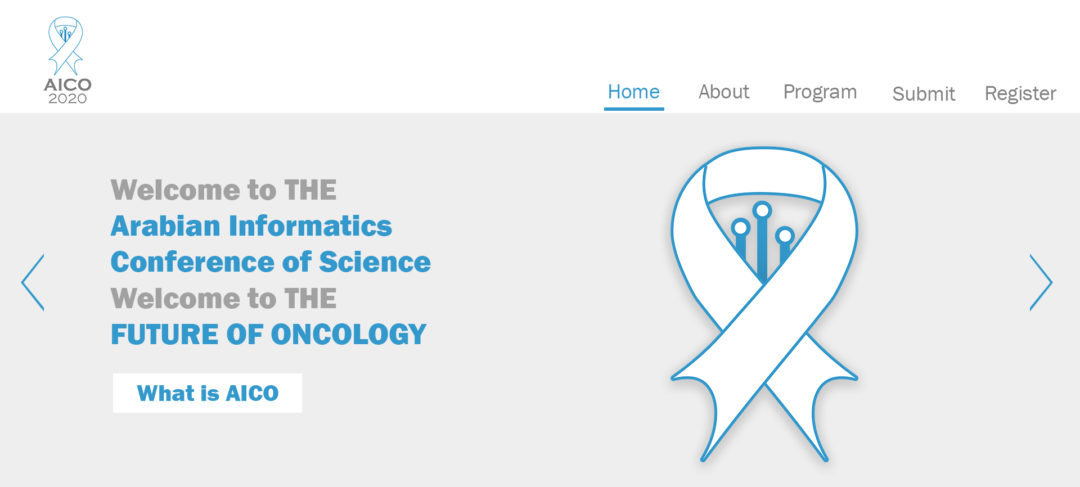 The Arab Informatics Conference of Oncology Website